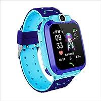 Watch Clocks Phone Watch, Kids Watch, GPS Smart Positioning Watch,Waterproof Kids Smart Watch Blue,Colour Name:Pink…