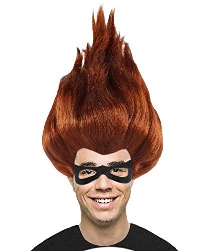 Halloween Party Online Incredibles 2 Syndrome Wig Multiple Color Options | TV/Movie Wigs (Adult, True to Character)