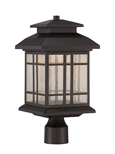 Designers Fountain LED33436-ORB Piedmont 8'' LED Post Lantern by Designers Fountain