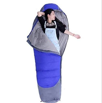 CATRP Al Aire Libre Abajo Momia Saco De Dormir Costuras De Otoño E Invierno Al Aire