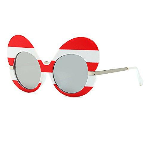 soleil lunettes lunettes femmes Frame soleil Oversize Inlefen lunettes de de Cat Mode Eye C10 Butterfly tqwnvXBg