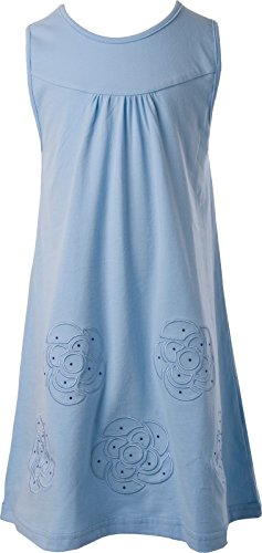 Buy light blue ruffle dress - 7