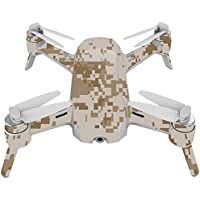 Skin For Yuneec Breeze 4K Drone – Desert Camo | MightySkins Protective, Durable, and Unique Vinyl Decal wrap cover | Easy To Apply, Remove, and Change Styles | Made in the USA