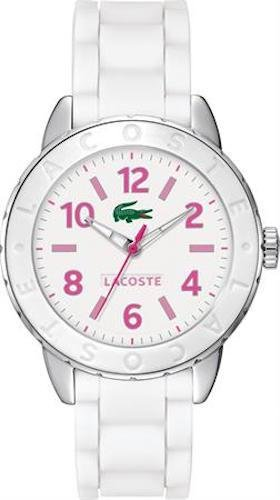 Lacoste Rio Three-Hand White Silicone Women's watch #2000848