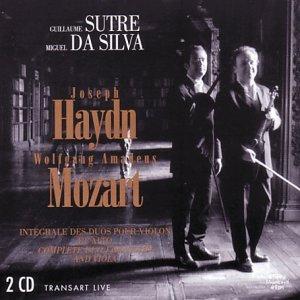 Guillaume Sutre/Miguel Da Silva - Complete Duos for violin and viola ...