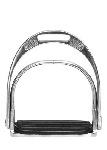 Kerbl 322711 Sicherheitssteigbügel SmartRider Classic für Kinder 100 mm