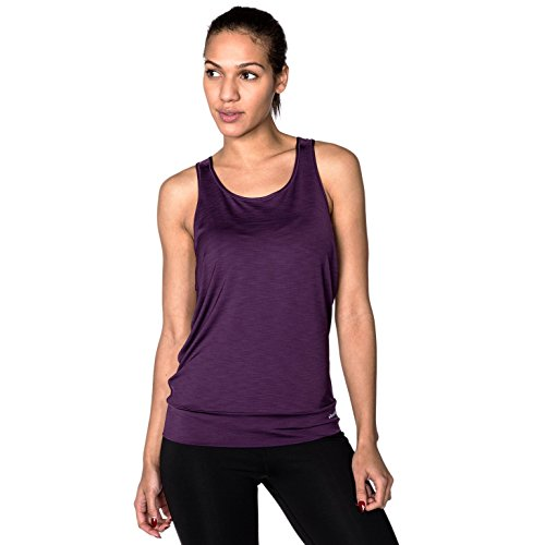 Flippin' Awesome Women's Reversible Scoop Neck Tank Top, Everyday Athleisure Wear, Sugar Plums, X-Small