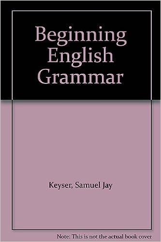 BEGINNING ENGLISH GRAMMAR DOWNLOAD