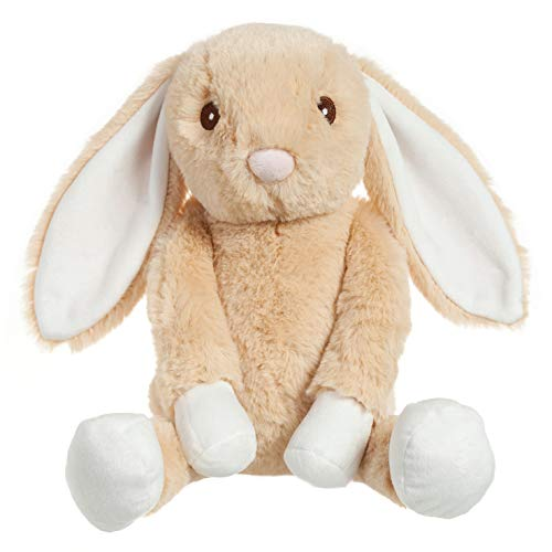 Apricot Lamb Toys Plush Bunny Rabbit Stuffed Animal with Fluffy Soft Ears (Brown-Bunny, 14 -