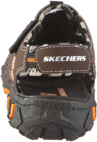 Skechers Gripper S 92380L BKRY Jungen Sandalen Braun/CHOR