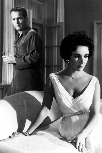 paul-newman-and-elizabeth-taylor-in-cat-on-a-hot-tin-roof-24x36-poster