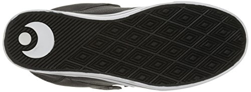 Osiris Mens Protocollo Scarpa Skate Nero / Text / Bianco