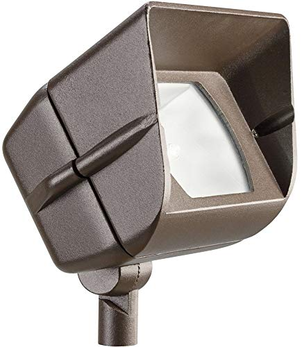 Kichler 15385AZT Accent 1-Light 12V, Textured Architectural Bronze