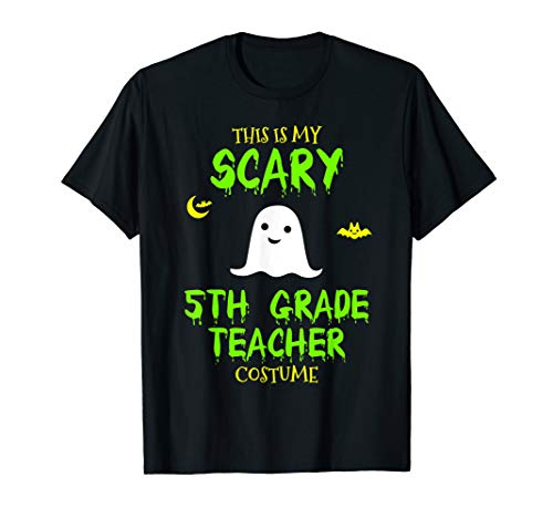 5th Grade Teacher Halloween Costume (Scary Fifth 5th Grade Teacher Costume Halloween Lazy Easy)