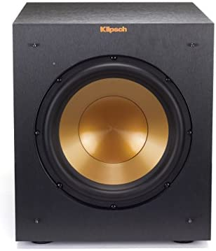 Klipsch R-10SWi 10 Wireless Subwoofer – Brushed Black Vinyl
