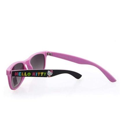 Defect Los niños Gafas de Sol Chica Moda Gafas de Sol Rosa ...