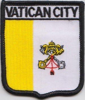 /Écusson brod/é Flag Patch Vatican-Badge