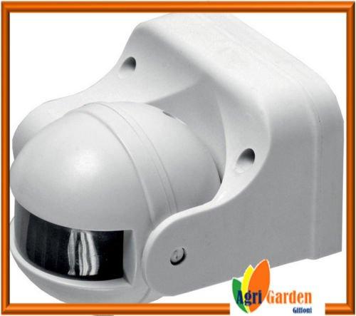 Sensor de presencia crepuscular infrarrojos detección movimiento ajustable