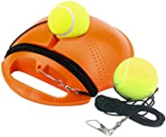 Gowersdee Tennis Trainer Rebounder Ball Cemented Baseboard with Rope Solo Equipment Practice Training Aid Serv