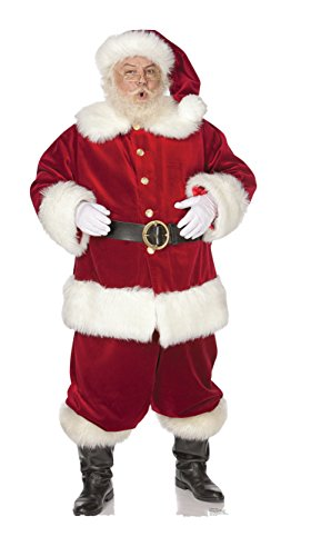 Ho! Ho! Santa - Advanced Graphics Outdoor Life Size Standup Yard Sign - For Outdoor Use