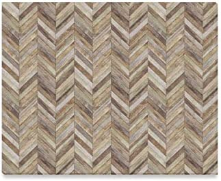 Enevotx Wall Art Painting Chevron Wood Parquet Chevron Old Plank Prints On Canvas The Picture Landscape Pictures Oil For Home Modern Decoration Print Decor For Living Room Posters Prints