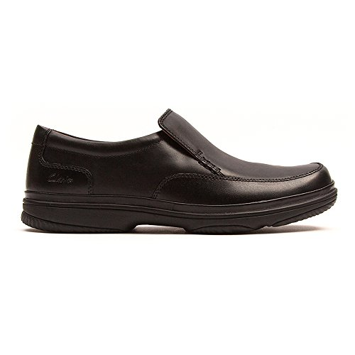 Clarks Swift Step Black Leather Schwarz