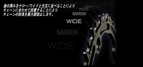 RaceFace 9/10/11-Speed Single Ring, Black, 110mm x 38T by RaceFace (Image #5)