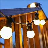 Ecurson LED Outdoor Lamp Waterproof Courtyard Lamp Hang Lamp Small Bulb Creative Lamp (5M)