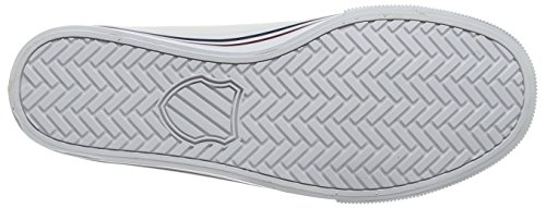 Ii Mixte Basses Sneakers Red Blanc Blue Bridgeport K biking white dress swiss Adulte cSWCnH