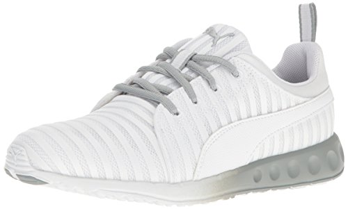 Price comparison product image PUMA Women's Carson Linear WN'S Cross-Trainer Shoe,  Puma White-Quarry,  7 M US