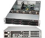 Super Micro CSE-829BTQ-R920WB 2U Rm 10bay Black 920w Rps Proprietary Sc829btq Wio+ Chassis CSE829BTQR920WB