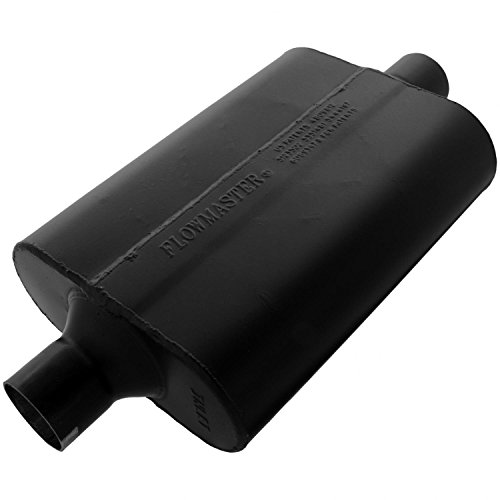 Flowmaster 942445 Super 44 Muffler - 2.25 Center IN / 2.25 Center OUT - Aggressive Sound