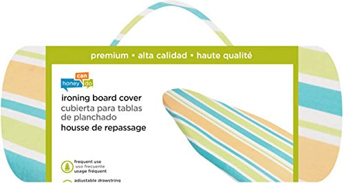 Honey-Can-Do IBC-01897 Premium Ironing Board Cover- HCD Stripes by Honey-Can-Do (Image #1)