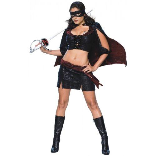 Sexy Lady Zorro Adult Costume (Zorro Costume Ladies)