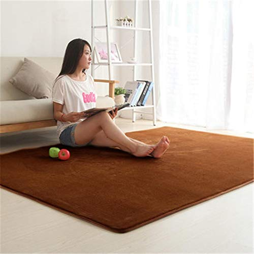 Soft Area Mat Thicken Bedroom Living Room Bedside Rug Coral Fleece Anti Fatigue Cover Carpets Floor Coffee Table Mat
