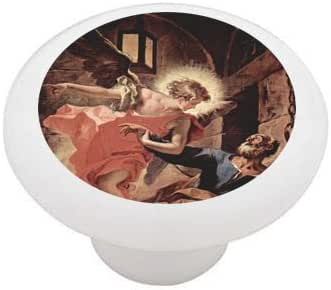 ANGEL GIRL LOVE VICTORIAN HOME DECOR CERAMIC KITCHEN  KNOB DRAWER CABINET PULL