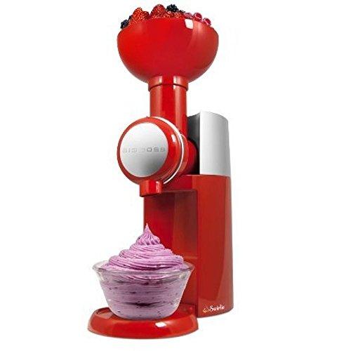 Big Boss Swirlio Frozen Fruit Soft Serve Dessert Maker Ice cream maker (Red)