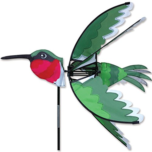 Premier Kites 24 in. Ruby Hummingbird Spinner