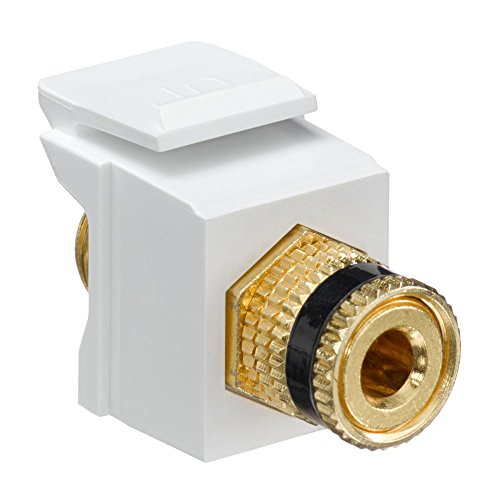 Leviton 40833 BWE Binding QuickPort Connector