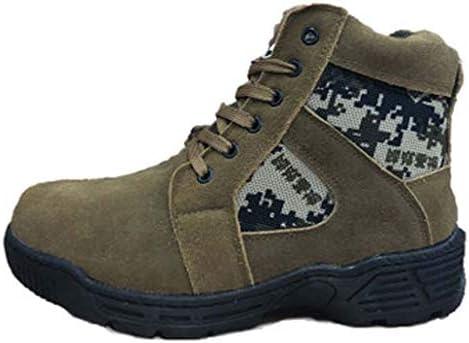 滑り止めの綿の靴ラウンドヘッドフラットレーススタイルスリップウェアラバーソール雪のブーツアウトドアメンズ厚く暖かいウール (色 : 緑, サイズ : 27 CM)