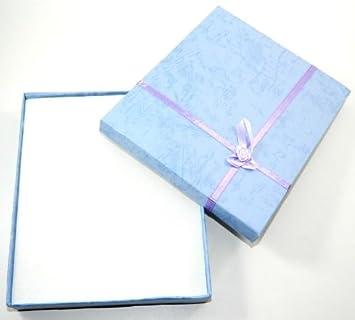 X4 Big High Quality Sky Jewellery Gift Boxes Bag Joyería Cajas Regalo Bolsa Necklace Bracelet Ring Set Small Wholesale: Amazon.es: Hogar
