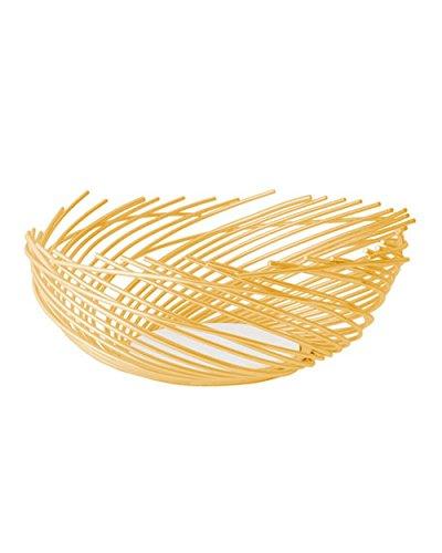 (Michael Aram Calla Lily Stem Bowl Large (gold tone fruit/bread, centerpiece bowl))