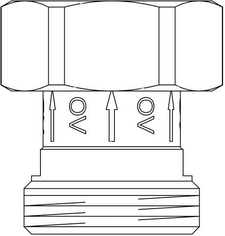 Oventrop Sperrventil als Ersatz f/ür Regumaq XZ 1381089