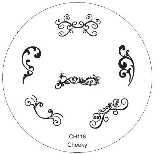 GA23 Nail Art Stamp Stamping Maniküre Nailart Neue Designs Schablone von Cheeky®