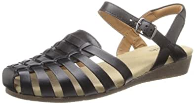 Amazon Com Clarks Women S Jaina Rouge Sandal Black 12
