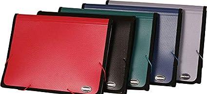 Centrum - Carpetas organizadoras de documentos (tamaño A4, 6 unidades)