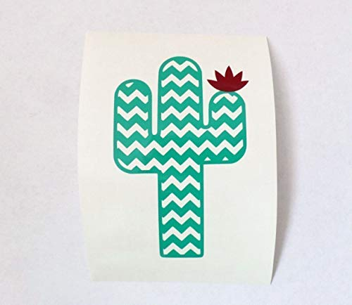 Cactus Decal Sticker for Yeti Cup, Car Decal, Laptop, Wall, or Water Bottle