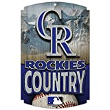 WinCraft Colorado Rockies Country Wood Sign