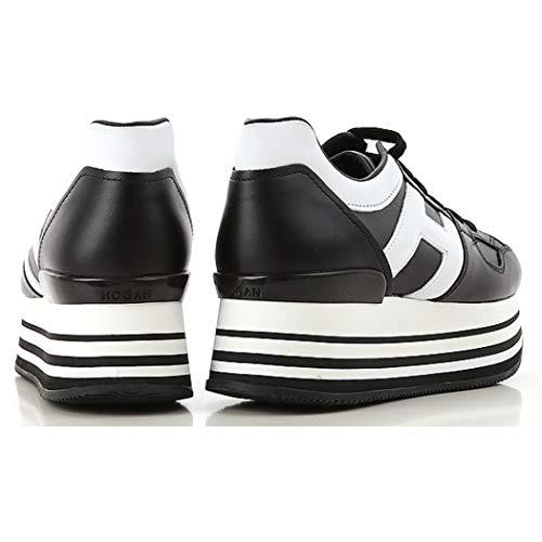 H Maxi Nera Nero Donna H222 Allacciata Hogan H283 Bianca Grande Sneakers qFa0fC