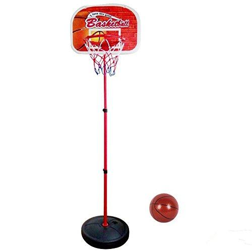 Basketballkorb Spiel mit Einstellbare Höhe Ständer Draussen Innen Sport Spielzeug Geschenke für Kinder 3 Jahre undBis